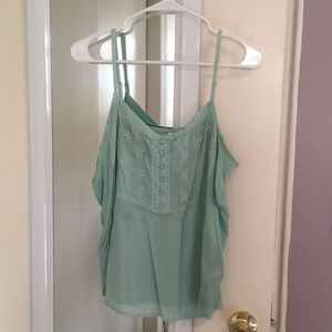 LC Lauren Conrad Light Blue Camisole